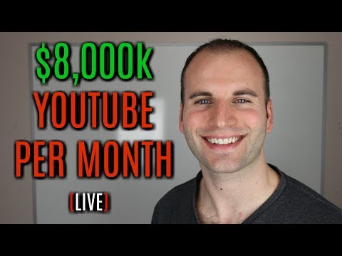 How To Make Over $8,000 Per Month On YouTube