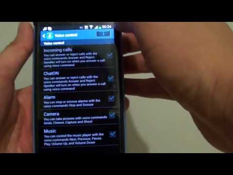 Samsung Galaxy S4: How to Answer Phone Call With Voice Command Using Answer or Reject (With Demo)