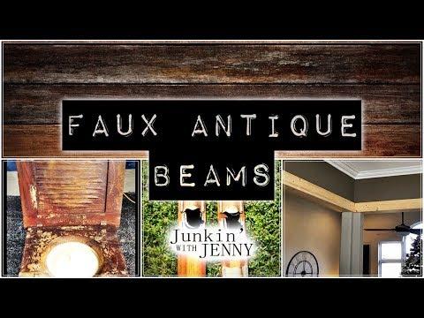 How To Build Rustic Faux Beams   DIY & Home Design