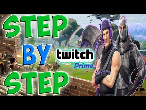 STEP BY STEP ON HOW TO GET TWITCH PRIME EXCLUSIVE FREE FORTNITE Trailblazer Outfit & Tenderizer axe