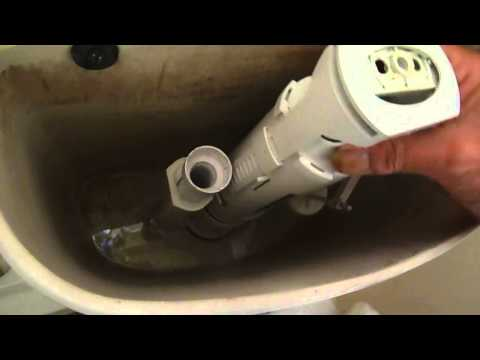 How to fix a push button cistern that does not flush. Without removing the cistern