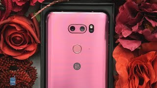 Special Unboxing: LG V30 in Raspberry Rose (pink) may just be the best Valentine