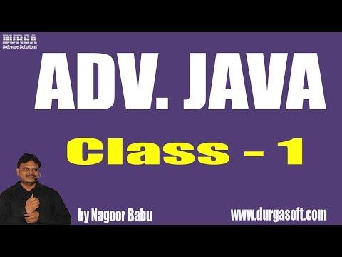 Learn ADV. JAVA Programming Tutorial Online Training by Nagoor Babu sir On 05-03-2018