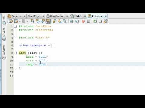 Creating a Linked List Project in C++ Part 3