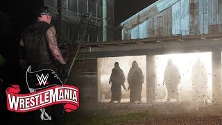 The OC summons druid army to fight off The Undertaker: WrestleMania 36 (WWE Network Exclusive)