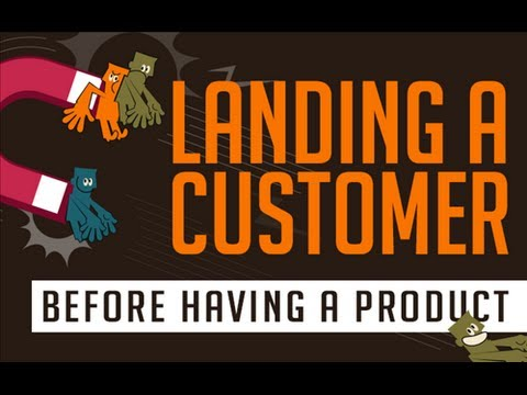 Course Introduction - Landing Customers Before Having A Product