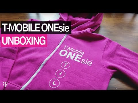 T-Mobile Products: New High-Tech T-Mobile ONEsie Unboxing & Preview