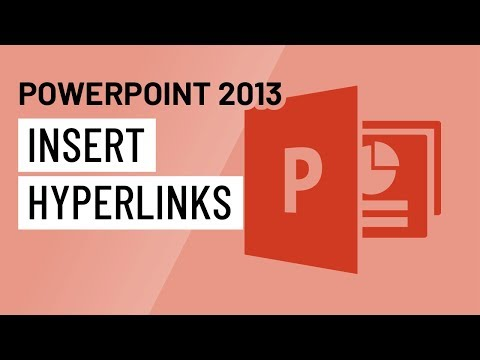 PowerPoint 2013: Inserting Hyperlinks