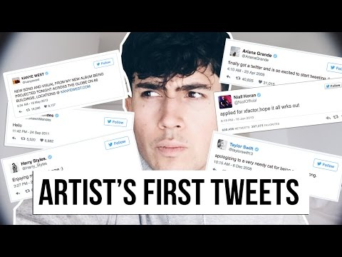 ARTISTS FIRST EVER TWEETS! | Harry Styles, Niall Horan, Shawn Mendes