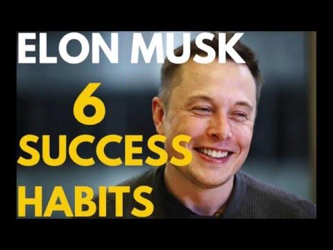Elon Musk's 6 Tiny Success Habits