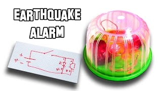 ✔ How To Make an Earthquake Alarm