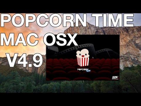 Popcorn Time V4.9 for MAC OS X Walkthrough - Dec 2014