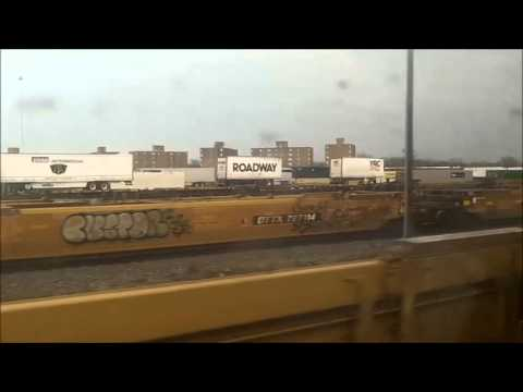 Riding Amtrak Train #352, the Eastbound