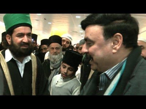 Sheikh Rasheed at Heathrow Airport London