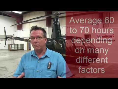 Helicopter Flight Training: How many hours to solo/get the rating?