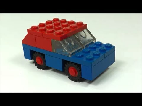 How to make a simple lego car -