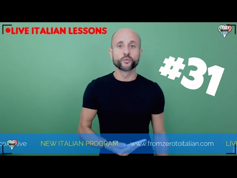 PRACTICE and Improve Beginner and Basic Italian Pronunciation: Learn Italian Online LIVE