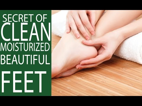 Home Remedies on How to Clean Feet Simply & Keep Beautiful