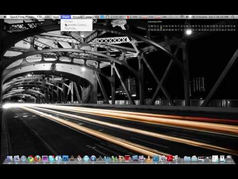Mac OS X Snow Leopard - Quicktime X
