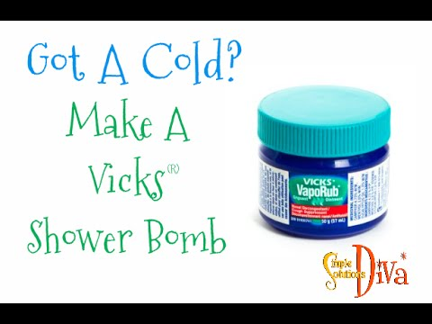 SimpleSolutionsDiva.com: Stuffy Nose? Make a Vicks Shower Bomb