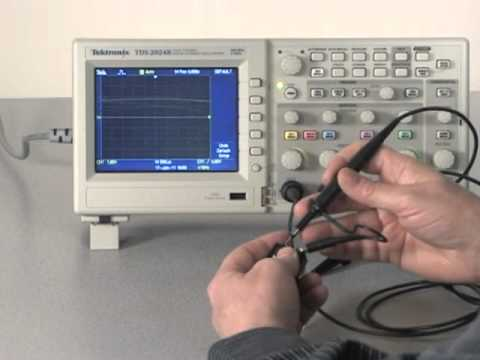 Tektronix Oscilloscope Used for Voltage Measurement - by Dave P.