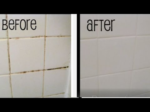 Easy Grout bathtub cleaning tip!- Mamiposa26