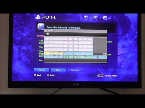 Tutorial   Jak si založit PSN účet
