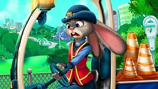 Zootopia Movie Game - Zootopia Judy Car Accident - Baby Games