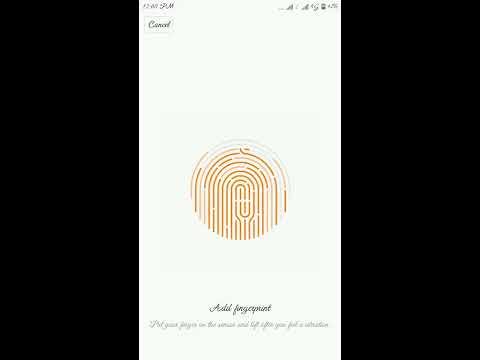 Change Fingerprints   in Redmi  2017  knowledge