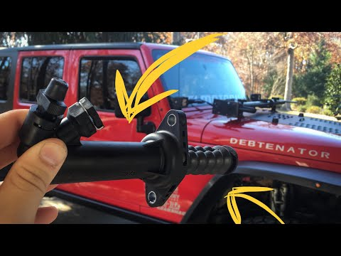 Jeep Wrangler slave cylinder install and bleed