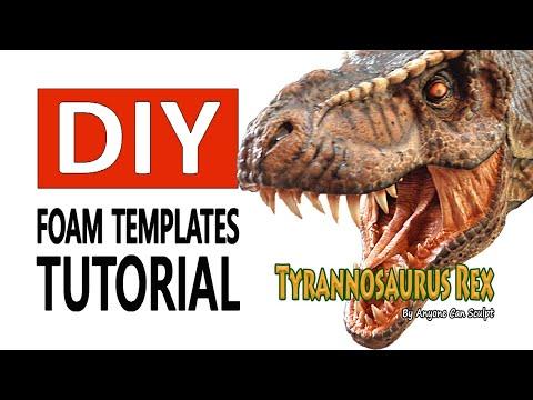 T-Rex Dinosaur DIY Tutorial Life Size Dinosaur