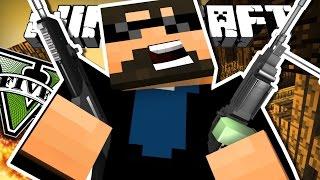 Minecraft: GRAND THEFT AUTO V   $500 CHALLENGE