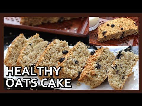 HEALTHY OATS CAKE without flour, oil, butter | Oatmeal Cake | Airfryer Recipe by Healthy Kadai