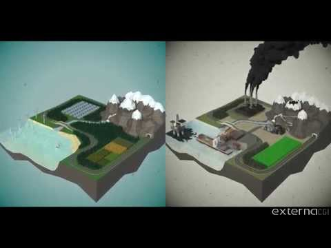 Low-poly Style Environmental Animation