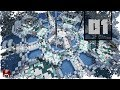 Minecraft Timelapse - LET'S BUILD KINETICRAFT'S NEW SPAWN - 01