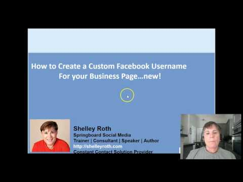 How to Create a Custom Facebook Business Page URL and Name