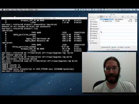 Backing Up a Raspberry Pi SD Card (Cloning an SD Card)