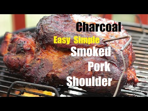 Charcoal Smoked Pork Shoulder Tips For Beginners
