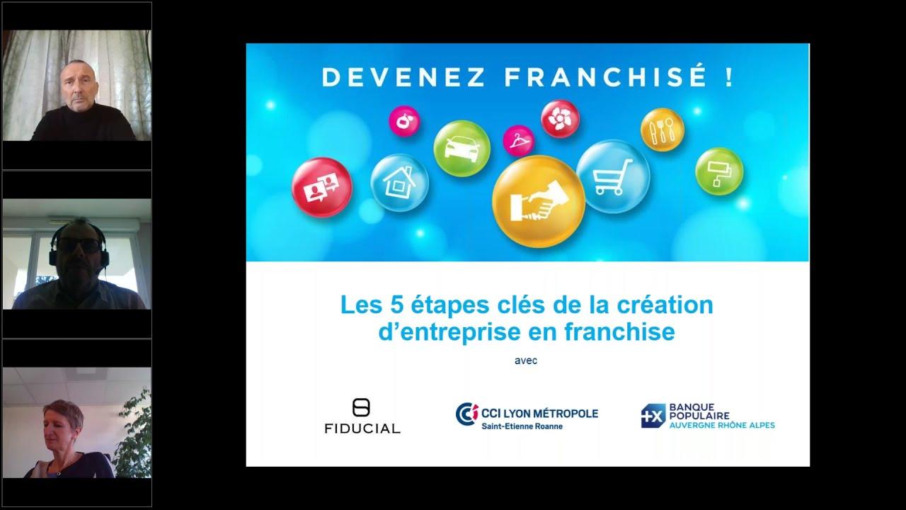 5 étapes Clefs de la création d'entreprise en franchise