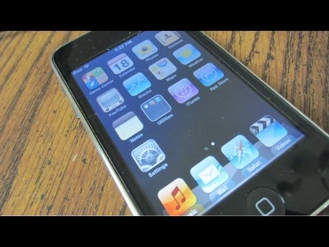 iOS 4.2.1 on iPod Touch 2nd Generation