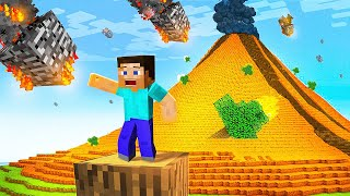 Minecraft But Every 5 Minutes There is A NATURAL DISASTER!