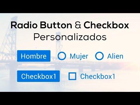 Como hacer Radio Buttons y Checkboxes personalizados con HTML y CSS