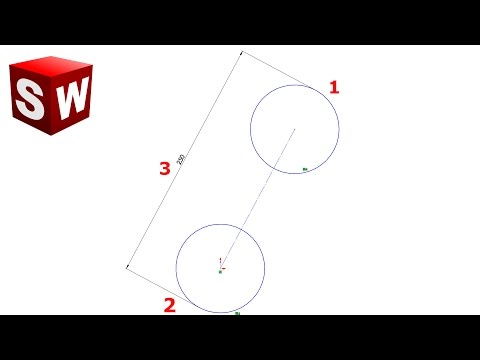 Solidworks tutorial | Smart Dimension Tips