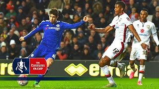 MK Dons 1-5 Chelsea - Emirates FA Cup 2015/16 (R4) | Goals & Highlights