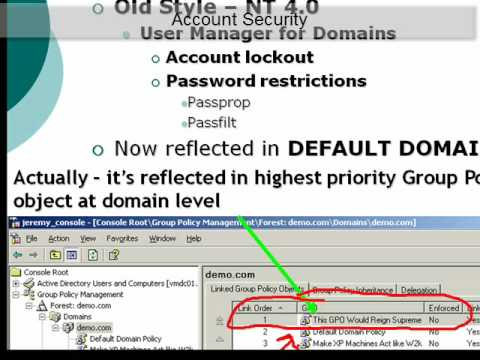 GPanswers University: Default Group Policy Objects -- What's the deal?