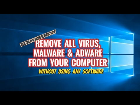 How To Remove Malware | Virus | Adware And Popups On Windows 10 For Free | Without Software