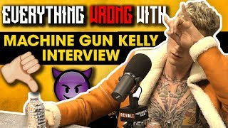 Everything Wrong With Machine Gun Kelly
