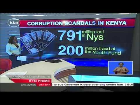 Corruption Scandals in the Kenyan Government