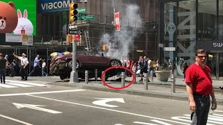 Times Square, New York City Car Attack! 1 Dead 20 Injured - (Compilation) PART 1