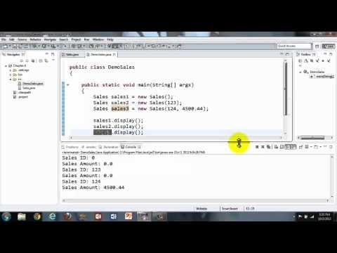 Java Tutorial - This keyword and This Method